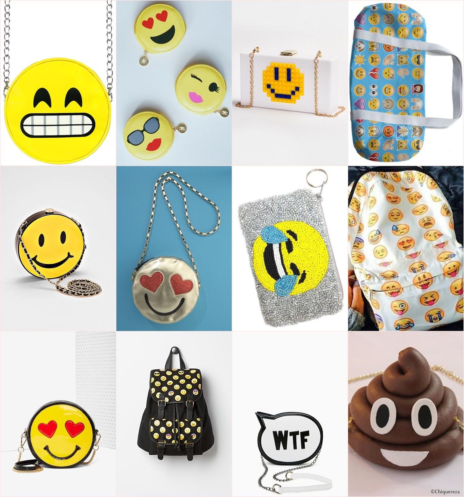 bolsas com emojis