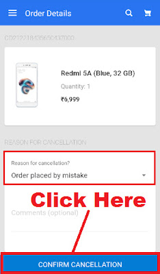 how to cancel your order in flipkart