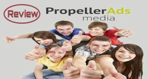 Review propellerAds, iklan populer