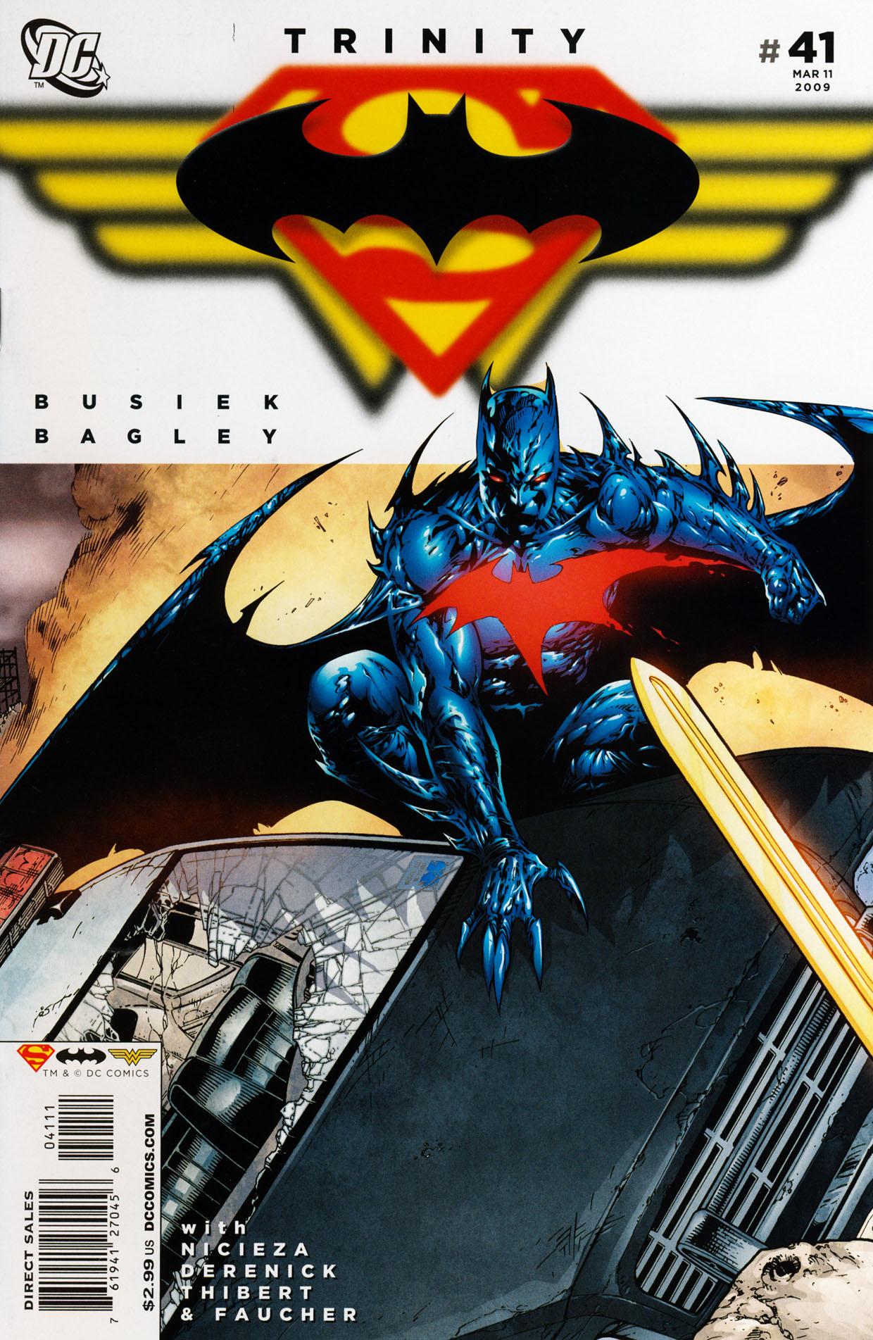 Read online Trinity (2008) comic -  Issue #41 - 1