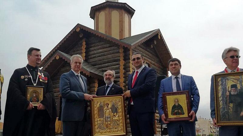 Τελέστηκαν τα θυρανοίξια του ρωσικού ναϊδρίου στην Αλεξανδρούπολη