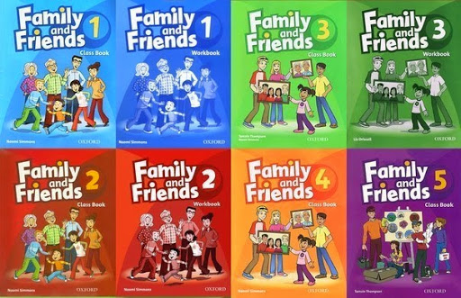 Image result for Family and Friends Level 1, 2, 3, 4, 5