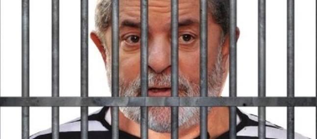 Imagem de Lula Preso - Fonte: Página do Facebook da  República de Curitiba - O sonho vai se tornar realidade amanhã  06/04/2018