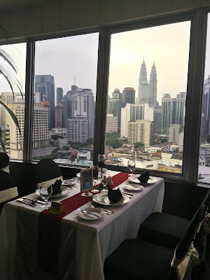 FINE DINING AT BINTANG REVOLVING RESTAURANT, THE FEDERAL HOTEL KL