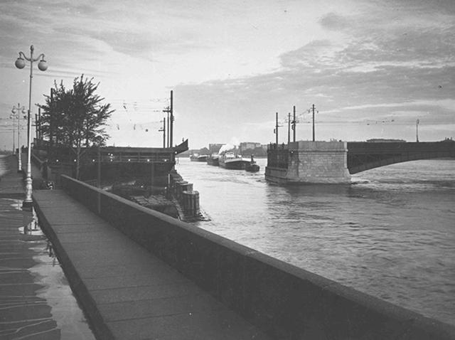 Литейный мост до реконструкции