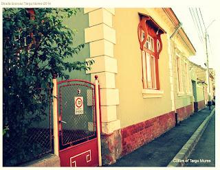 Strada Izvorului, Tirgu-Mures - Then and Now