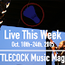 Live This Week: Oct. 18th-24th, 2015