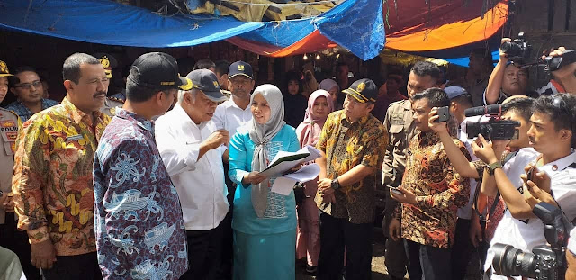 Menteri Perdagangan: Presiden Dukung Rekonstruksi Pasar Pariaman
