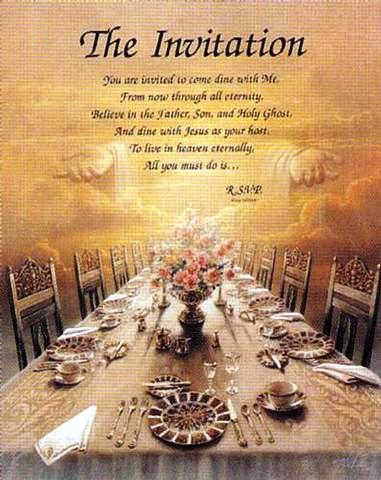 A Wedding Feasts For The Lambs Of