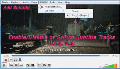 Add-Switch-Enable-Disable Subtitle Tracks