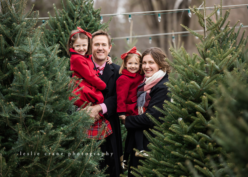 Leslie crane photography christmas tree lot mini sessions child