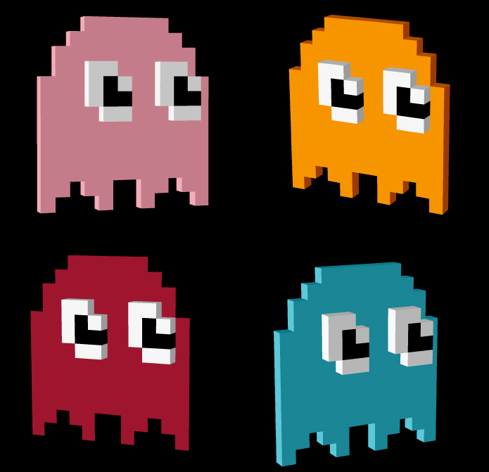 pacman pixel related keywords - photo #8