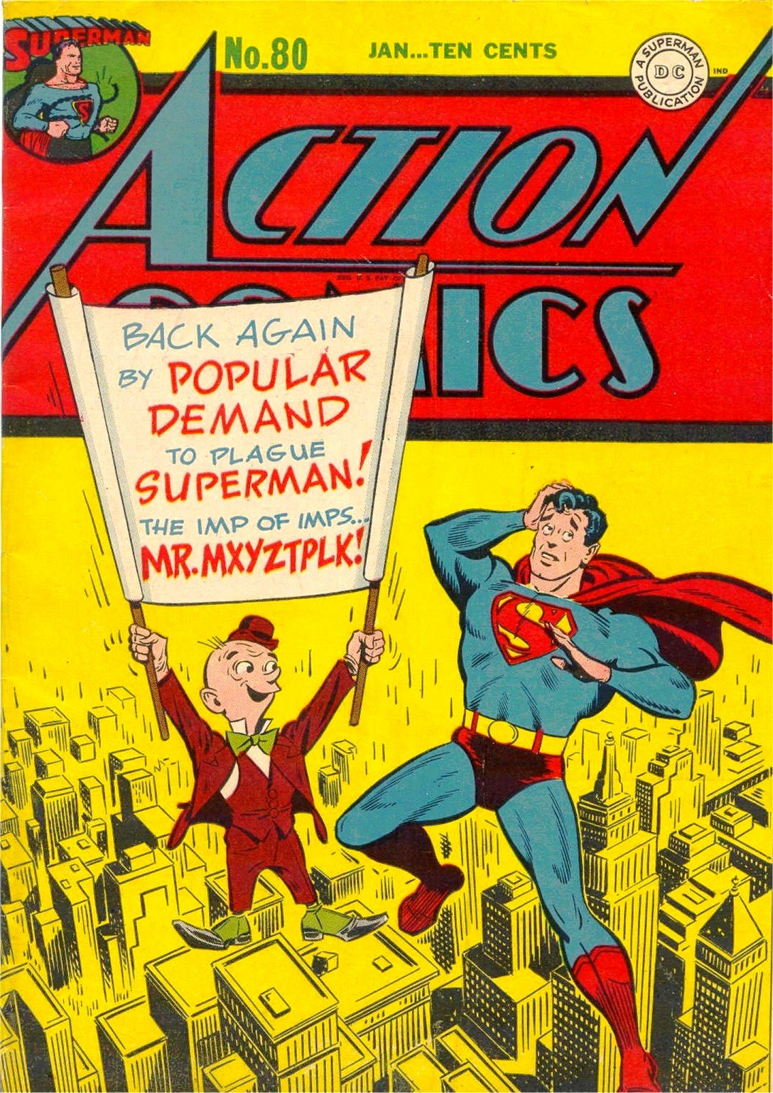 Read online Action Comics (1938) comic -  Issue #80 - 1