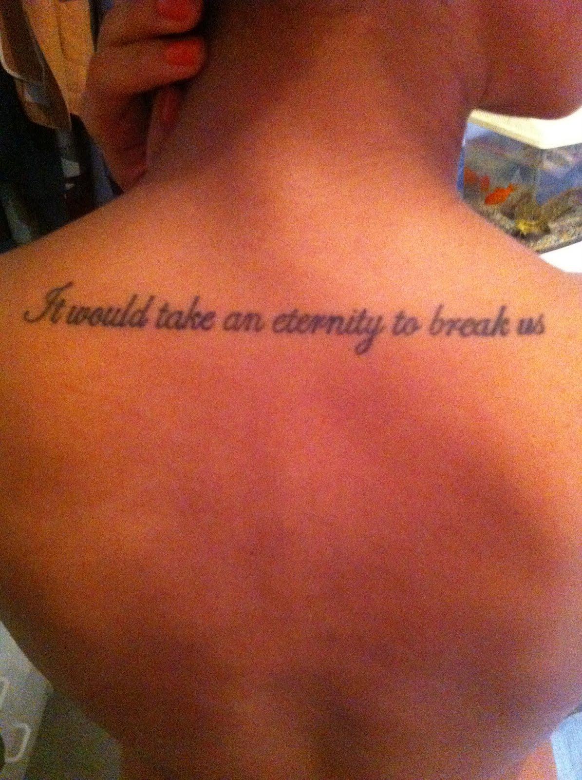 queen lyrics tattoo - photo #4