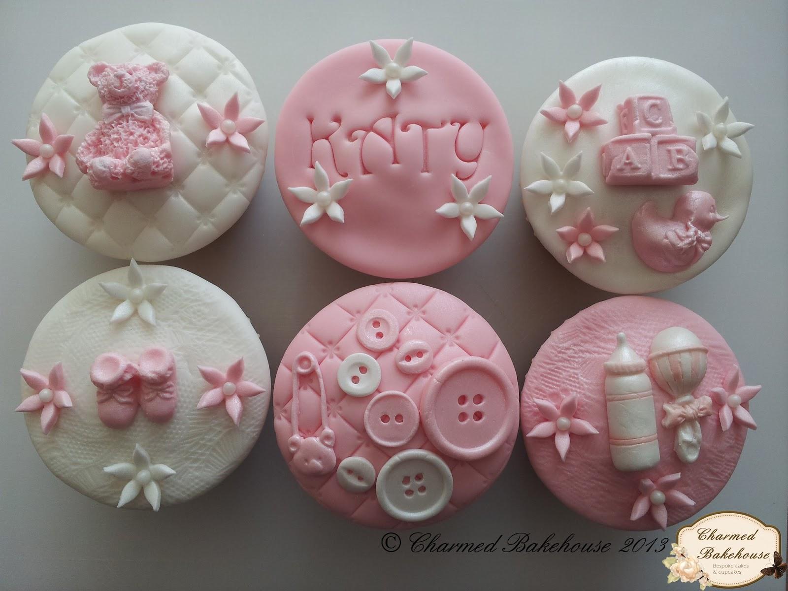 New Baby Baby Girl Cupcakes Gift Box