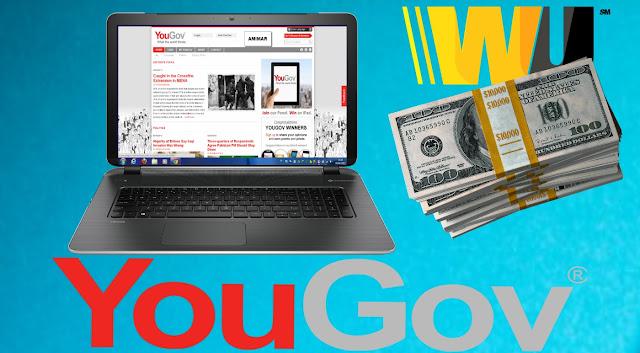 شرح ربح 50 دولار عن طريق موقع الاستطلاعات YOUGOV شرح كامل