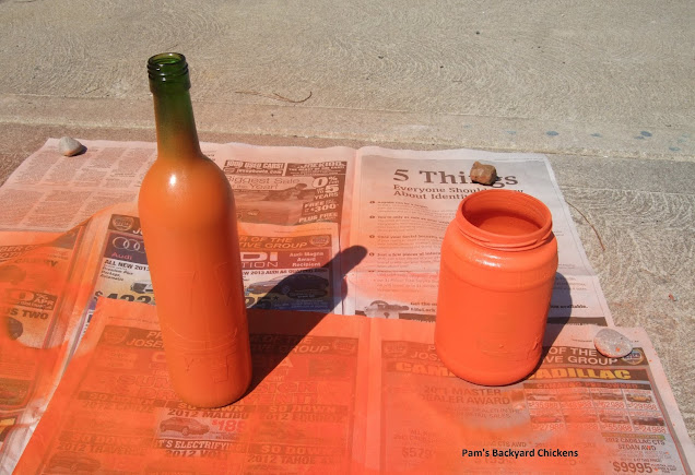 DIY Spooky Halloween Bottles. Raid your recycling bin and make these adorable, spooky bottles to dress up your house. They're easy to make and they'll last forever.