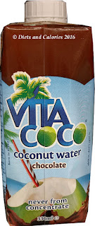 Vita Coco coconut water with chocolate