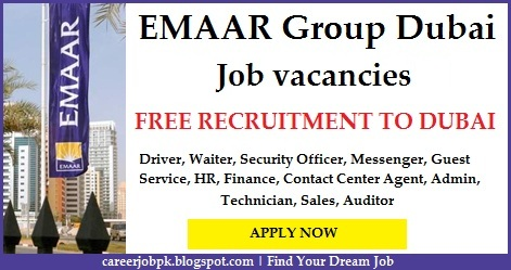 Latest jobs in Emaar Propertise Dubai