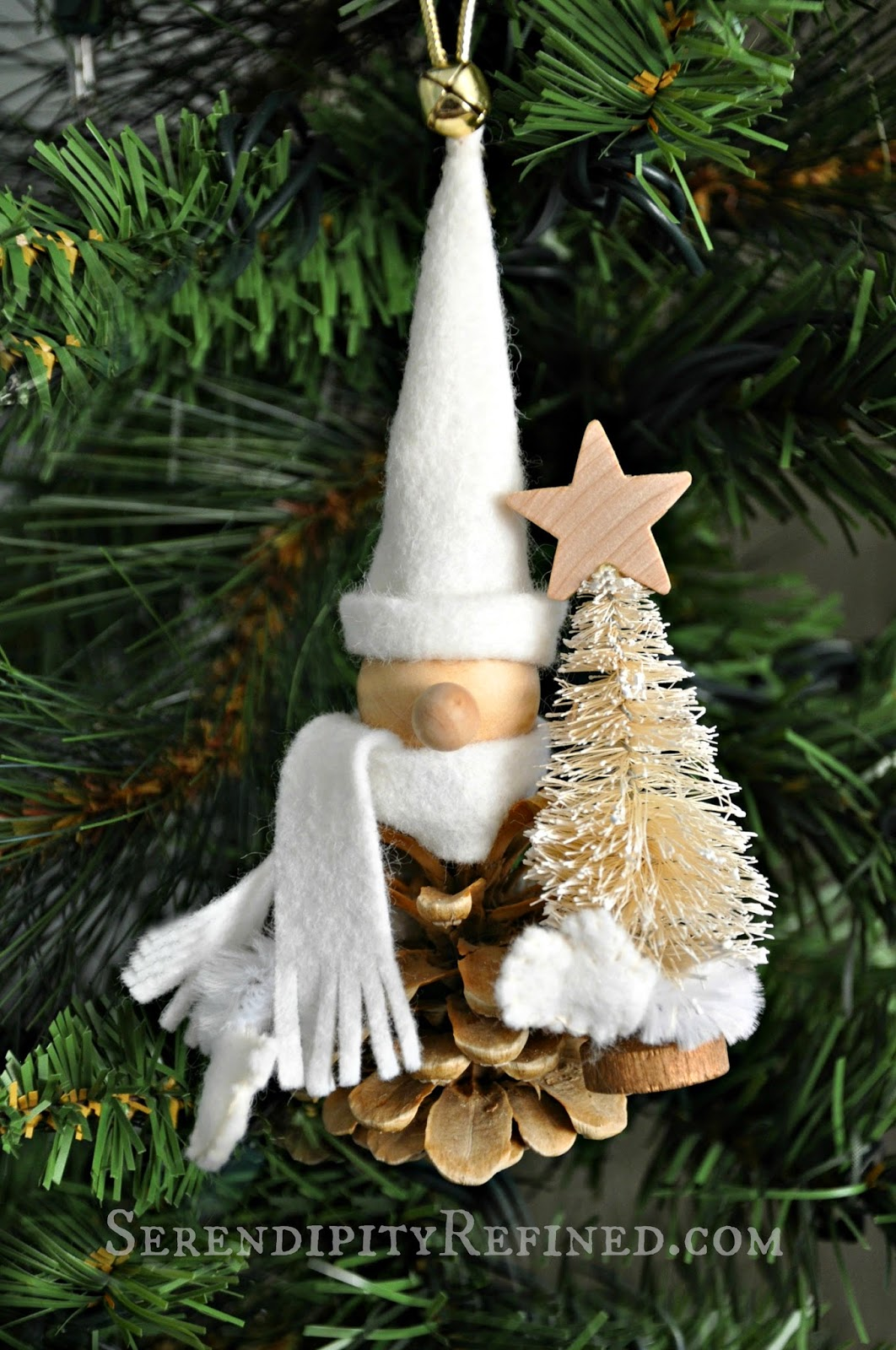 Serendipity Refined Blog Bleached Pinecone Woodland Gnome ...