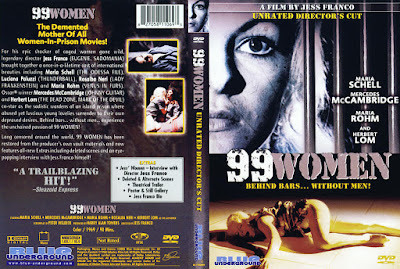 Carátula dvd: 99 Mujeres / Der heisse Tod / High Test Girls