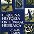 Pequena História da Língua Hebraica - Chaim Rabin