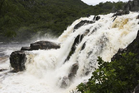 "Image Attribute: Waterfall known as ""Cariocas""Marcelo Camargo/Agência Brasil"