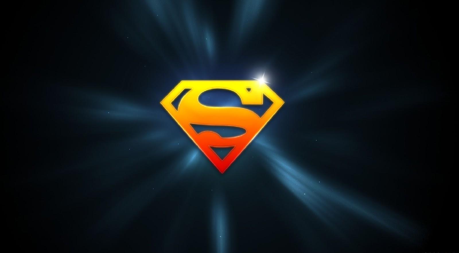 GAMBAR LOGO KEREN SUPERMAN Gambar Kartun Lucu Dan Wallpaper