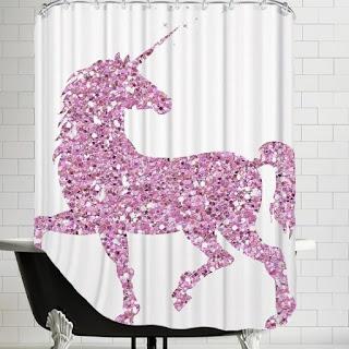 unicorn duş perdesi