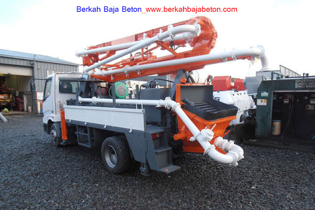 Truk Pompa Beton Standar