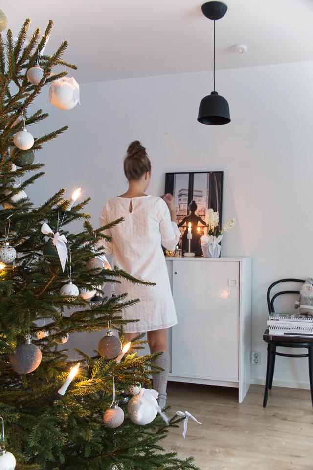 joulukuusi, joulusisustus, oma tyyli