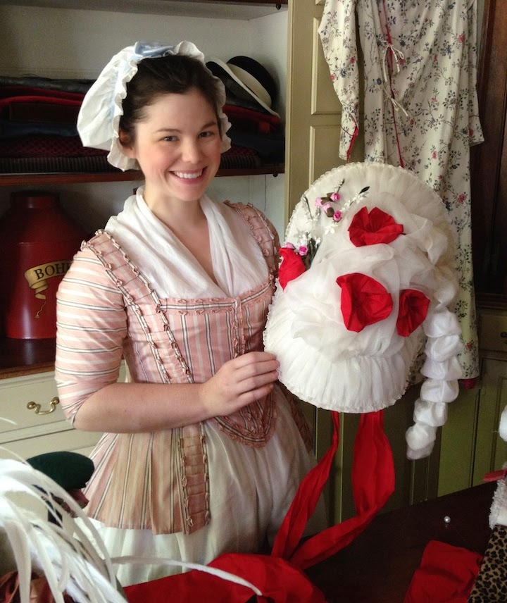 Two Nerdy History Girls  More 18th c. Hats from Colonial Williamsburg f5c7c5395ba