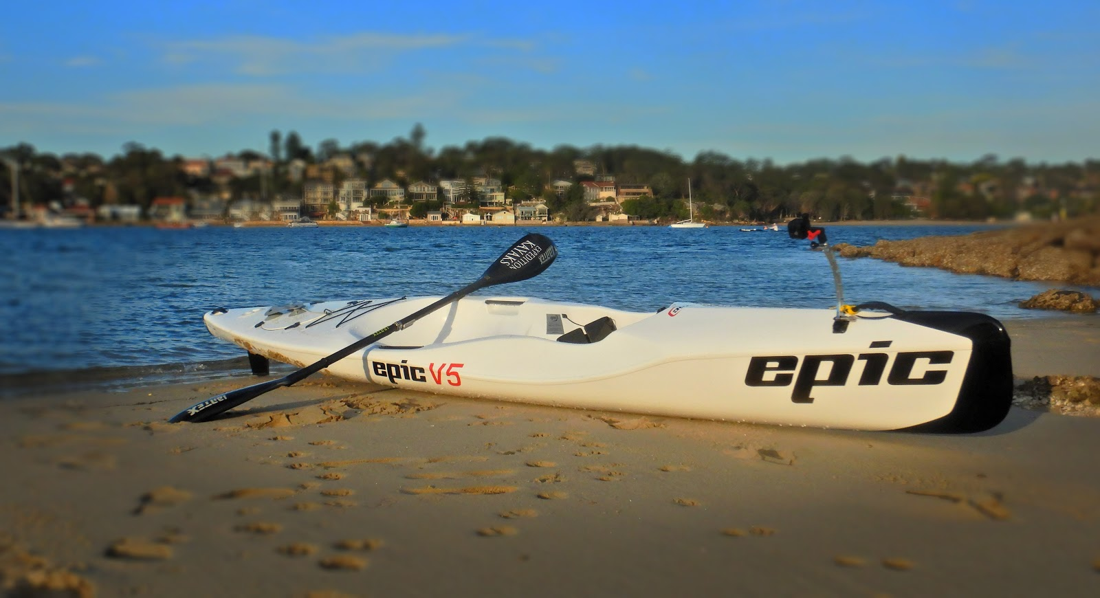 Expedition Kayaks: The Epic V5 - a ski for you & your mates