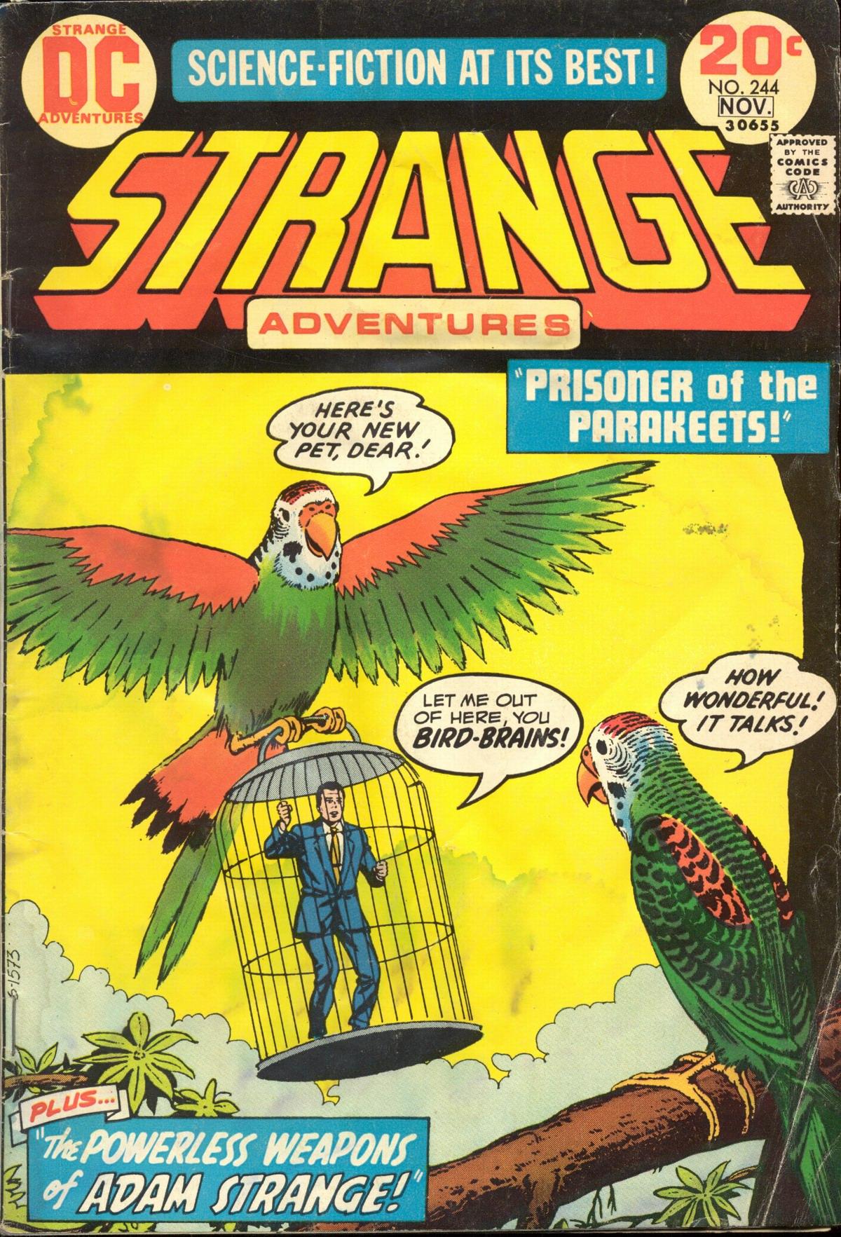 Strange Adventures (1950) 244 Page 1