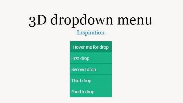 22+ Free HTML5 CSS3 jQuery DropDown Menus List ~ NEW CSS3 MENU
