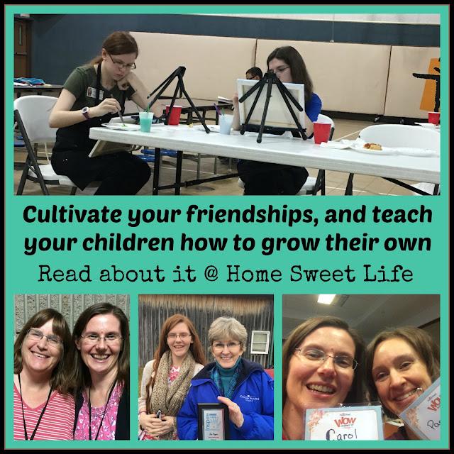 homeschooling victories, friendship, cross-generational, cultivating friends