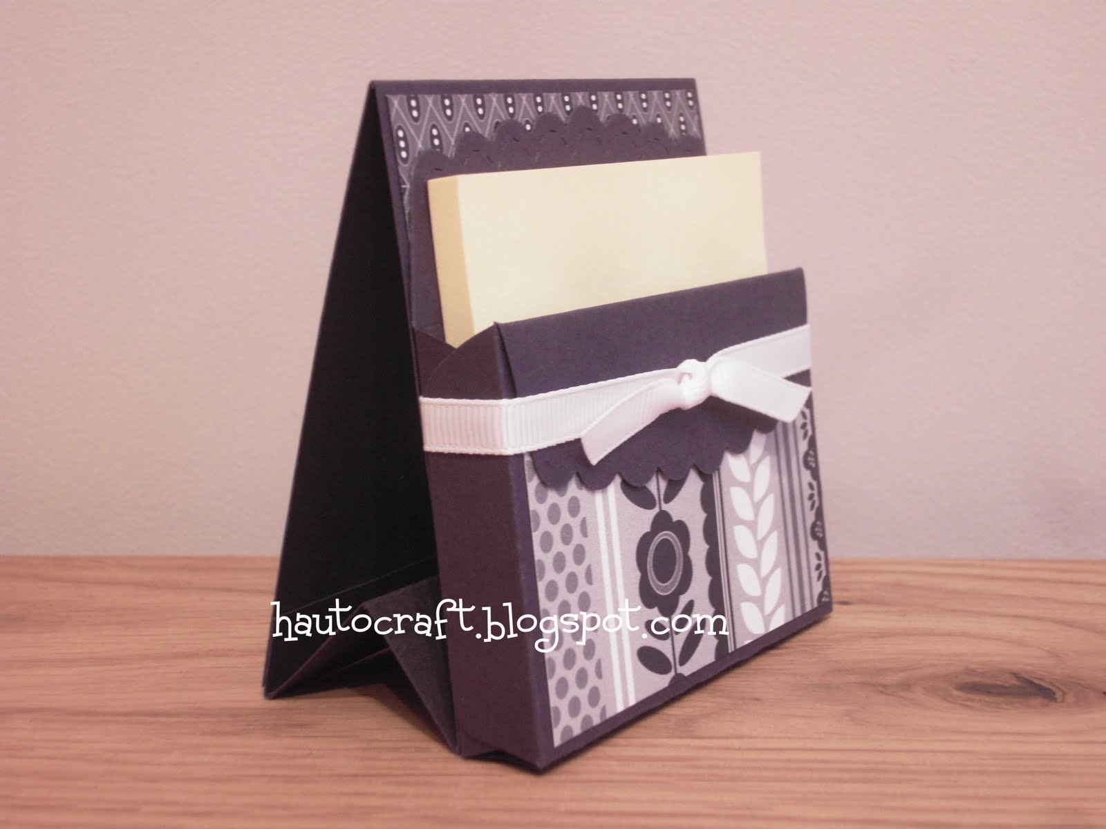 Hau To Craft: Post It Note Holders