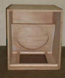 Kotak Woofer Speaker Papan Kosong