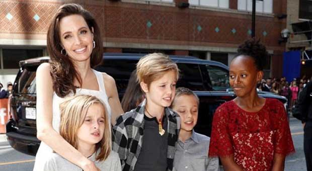 "Angelina Jolie Tak Ingin Anaknya Jadi ""Terlalu Sopan"""