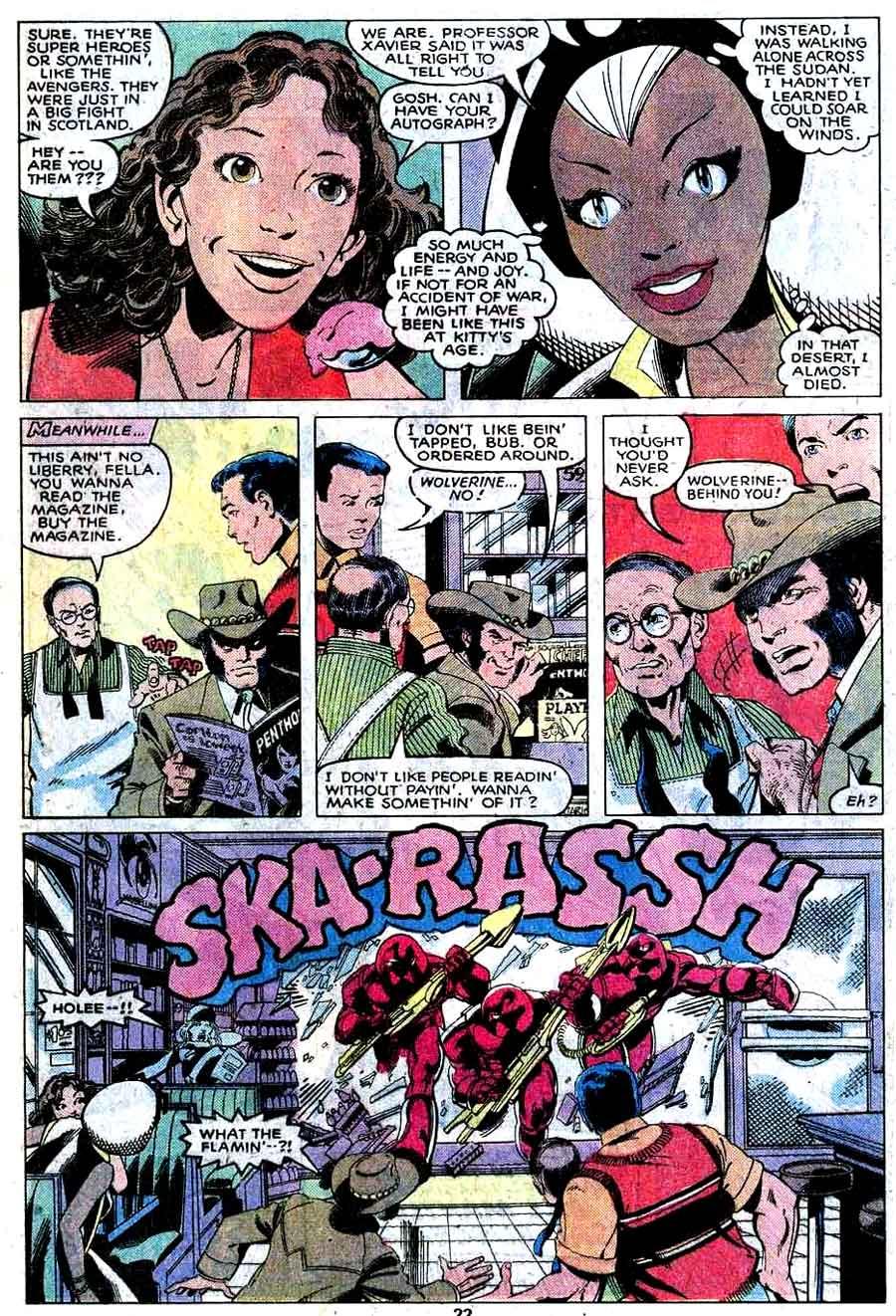 X-men v1 #129 marvel comic book page art by John Byrne
