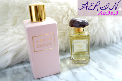 aerin evening rose edp and rose body wash