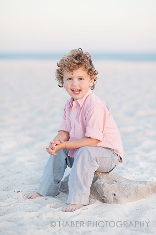 Kids Portraits on the Beach