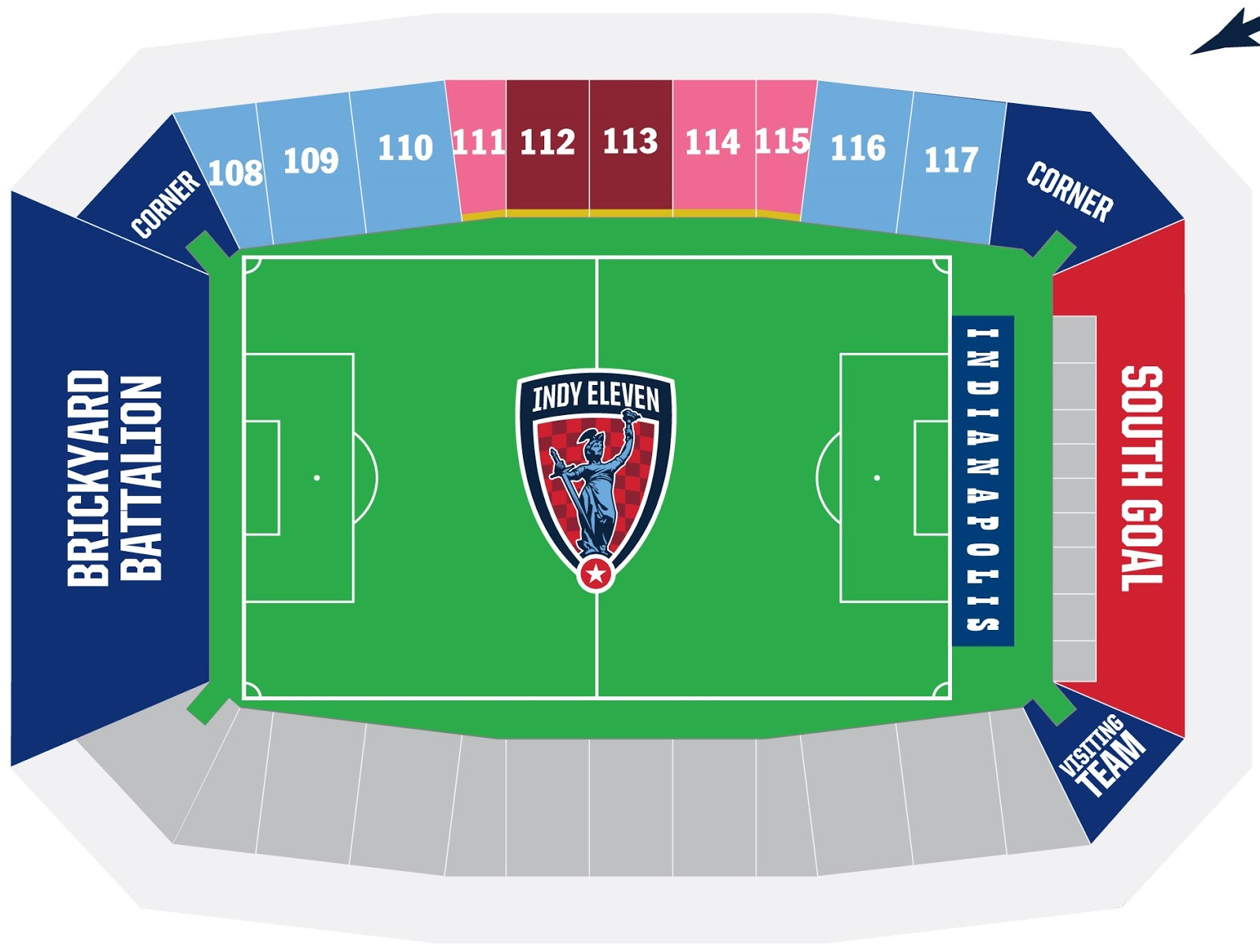 So it looks like the team intends to still use just predominantly one side of field for spectators edit season ticket holders also game beckons indy eleven prices rh beckonsspot