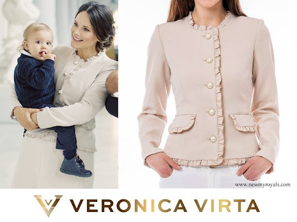 Princess Sofia wore Veronica Virta Rosie Jacket