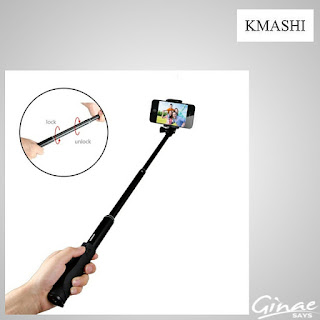 Self-portrait Monopod Extendable Wireless Selfie Stick by Kmashi