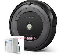 Logo Con iRobot vinci gratis robot Roomba e Brava Jet