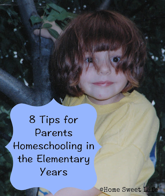 Elementary  aged homeschool tips, tips for homeschool parents