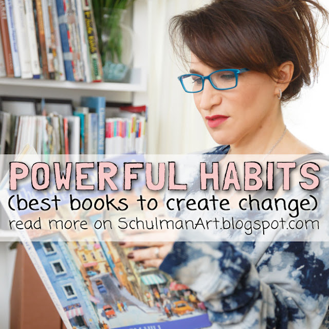 best books on creative habits http://schulmanart.blogspot.com/2015/12/the-creative-habit-4-best-books-on.html