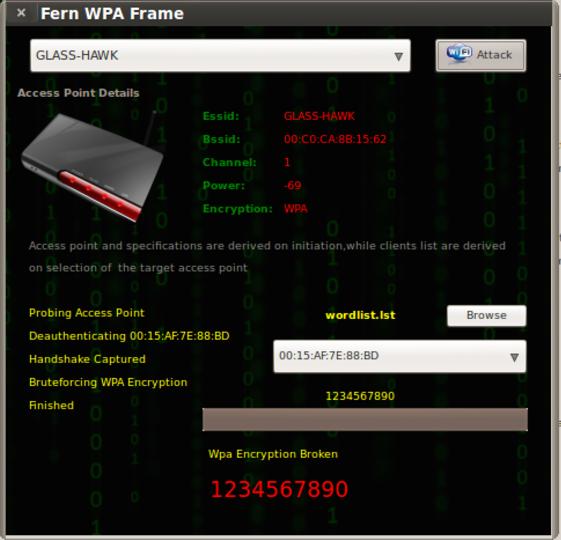 Fern Wifi Cracker A Wireless Penetration Testing Ol World Of