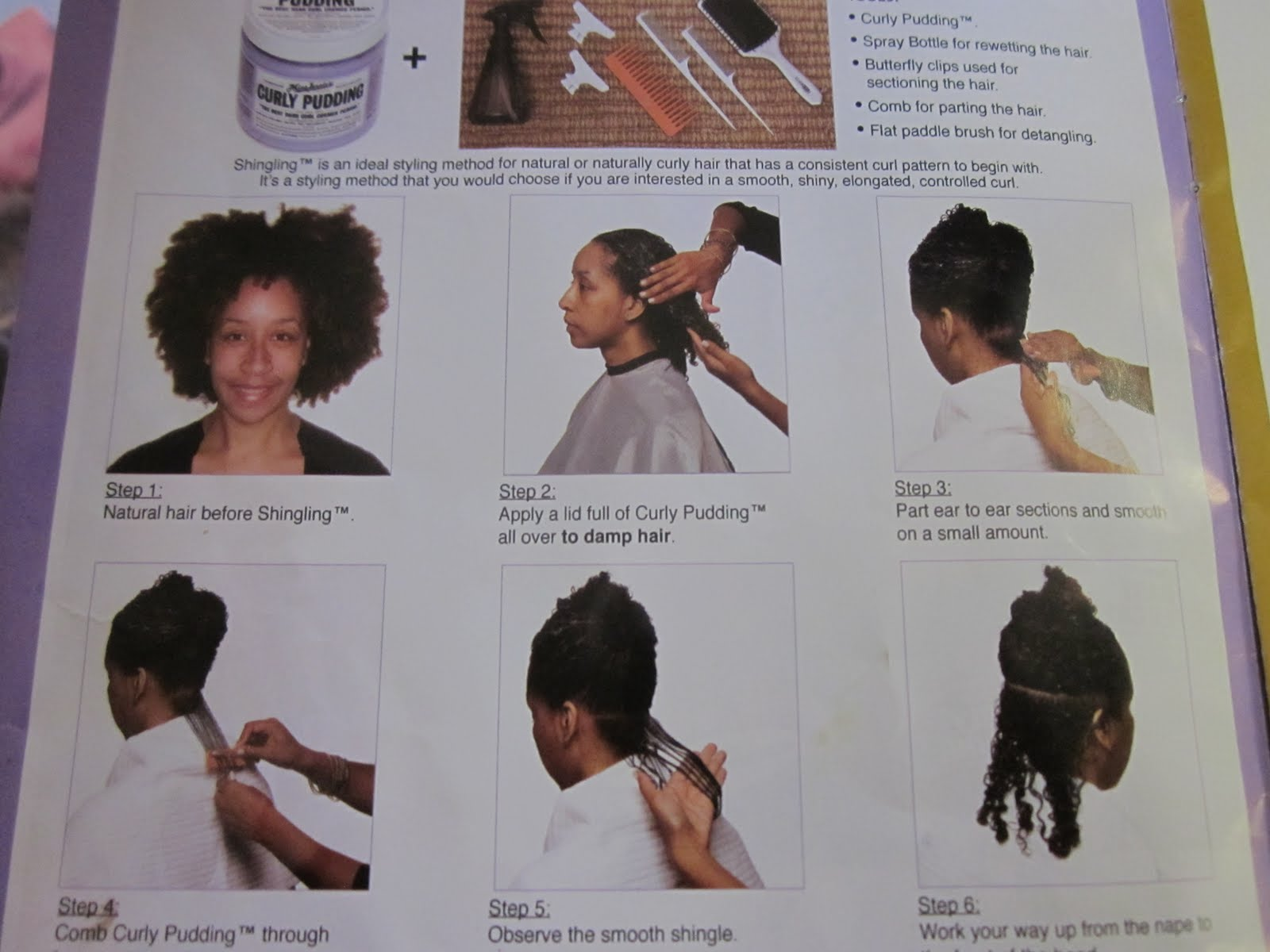 Phenomenalhaircare Shingling A Natural Hair Styling Technique